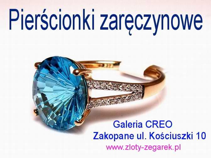 Galeria Creo Zakopane Pieścionki Zaręczynowe Pierścionki
